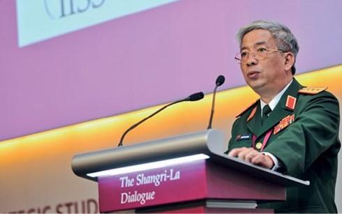 阮志咏副部长率越南国防部代表团出席香格里拉对话会 - ảnh 1
