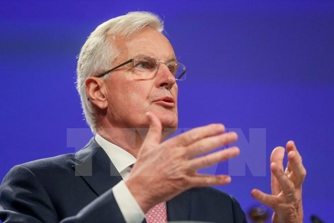 欧盟警告英国脱欧谈判可能被推迟 - ảnh 1