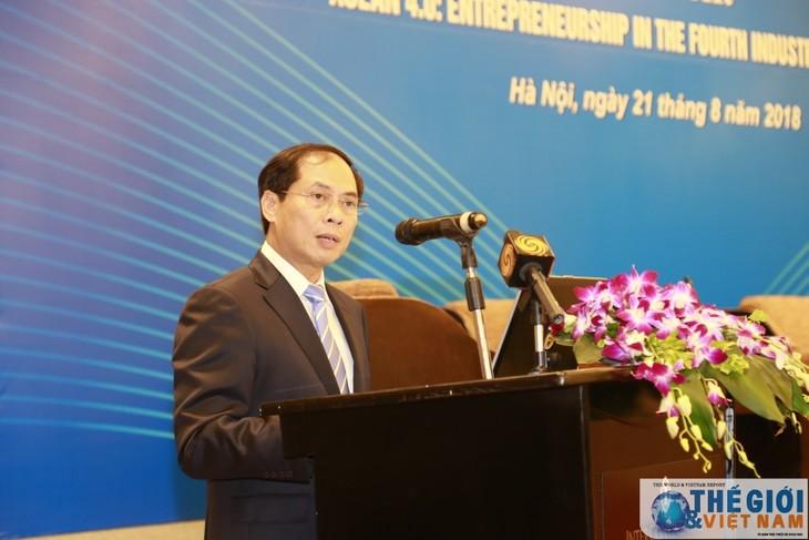 越南企业顺应第四次工业革命 - ảnh 1