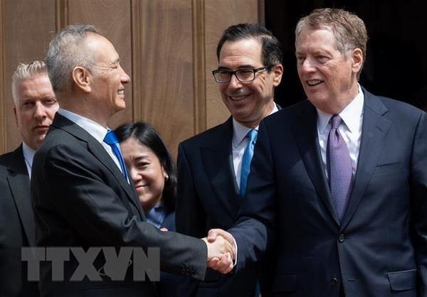 美国继续推动与中国的贸易谈判 - ảnh 1