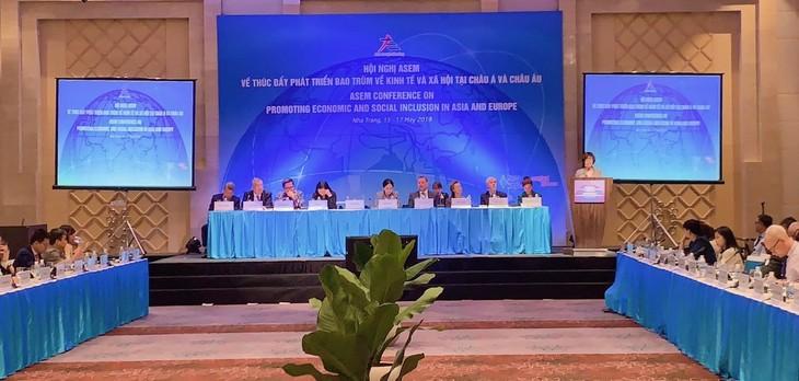 亚欧会议同意加强配合 推动经济社会包容性发展 - ảnh 1