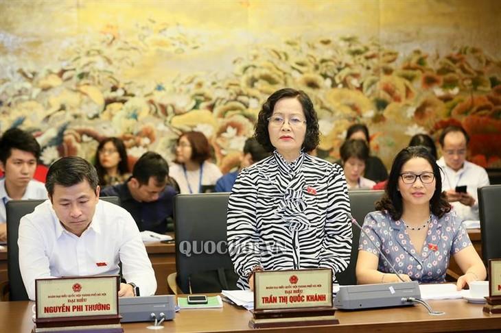 越南14届国会7次会议讨论经济社会情况 - ảnh 1