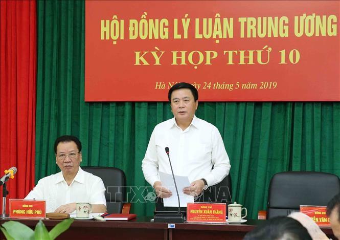 越共中央理论委员会第十次会议举行 - ảnh 1