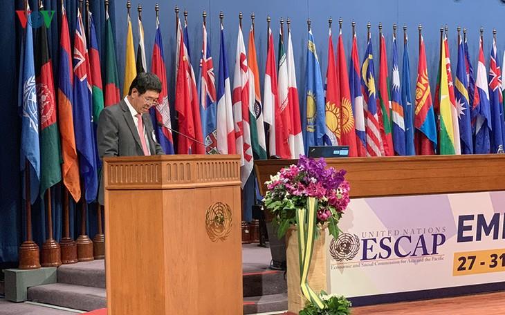 越南参加ESCAP第75届会议 - ảnh 1