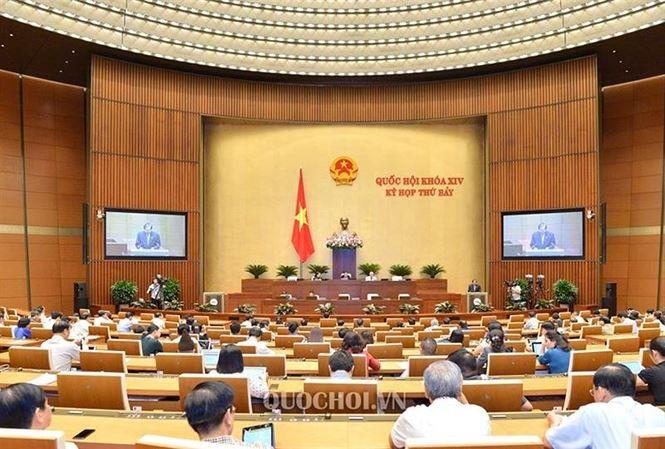越南国会讨论经济社会发展情况 - ảnh 1