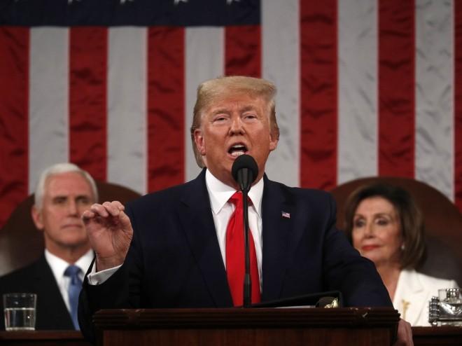 美国总统特朗普发表任内最后一份国情咨文 - ảnh 1