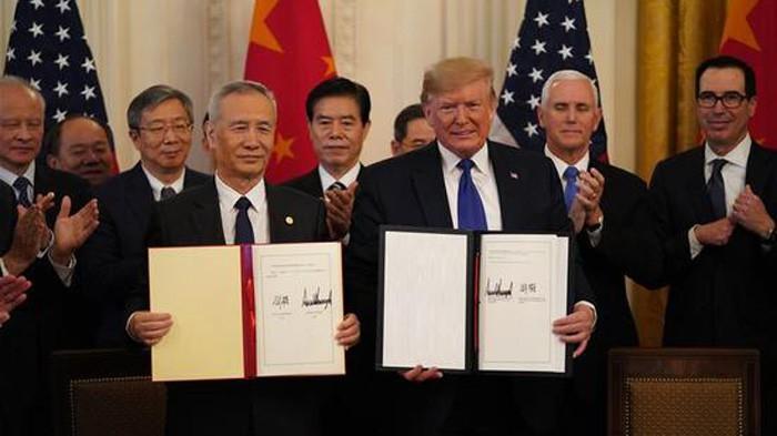 美中第一阶段贸易协议的农业条款执行取得进展 - ảnh 1