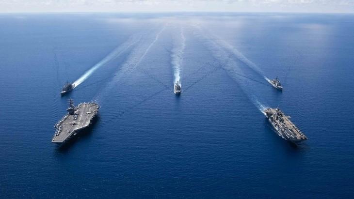 欧盟将在地中海海域展开名为IRINI的新海军行动 - ảnh 1