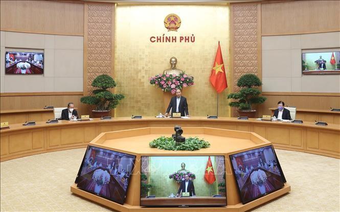 越南政府总理阮春福与同奈省领导班子举行工作会议 - ảnh 1