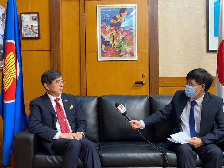 日本强调分享信息应对疫情的重要性 - ảnh 1