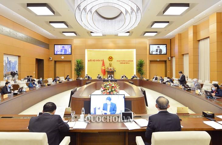 越南国会常委会向岘港市发展决议草案提供意见 - ảnh 1