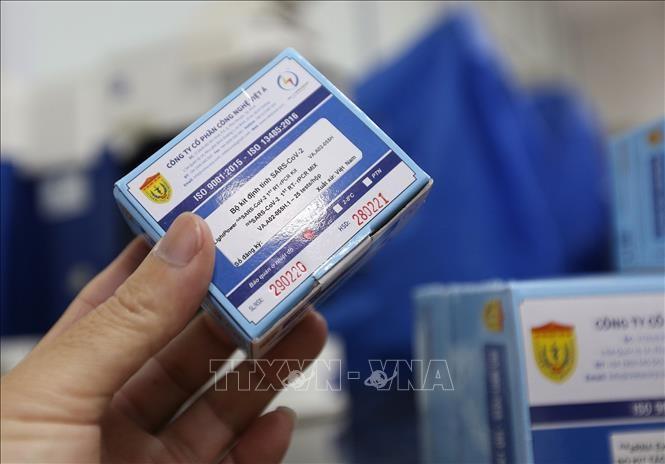 越南扩大出口新冠病毒检测试剂盒 - ảnh 1