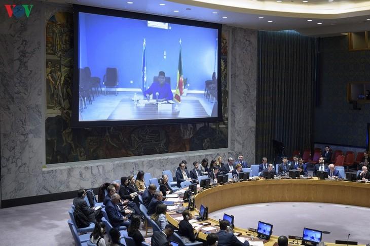 联合国安理会讨论伊拉克问题 - ảnh 1