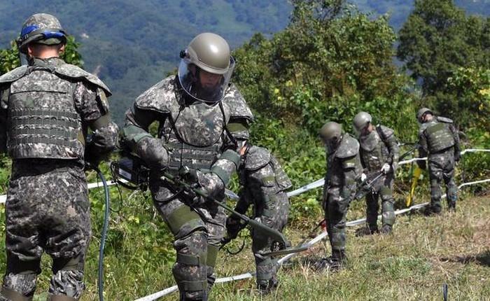 韩国和朝鲜违反停战协定 - ảnh 1