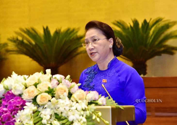 越南14届国会9次会议落下帷幕 - ảnh 1