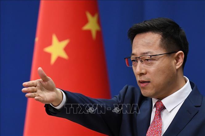 """美国将四家中国媒体列为""""外国使团"""",中国外交部:不得不作出必要正当反应 - ảnh 1"""