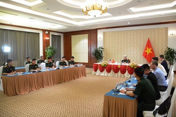 越南与美国交流联合国维和行动经验 - ảnh 1