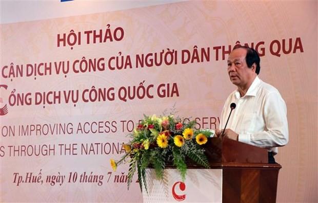 提高越南人民的公共服务利用率 - ảnh 1