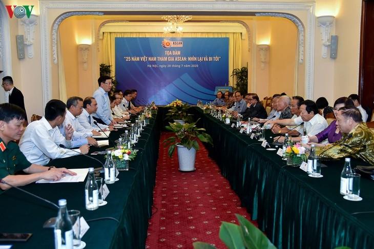 越南加入东盟25周年:回顾过去 不断前进 - ảnh 1