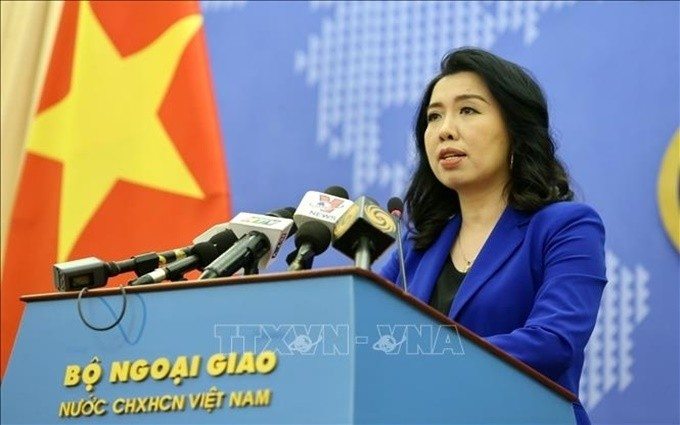 越南外交部发言人黎氏秋姮:一名越南公民在黎巴嫩贝鲁特港口爆炸中受轻伤 - ảnh 1