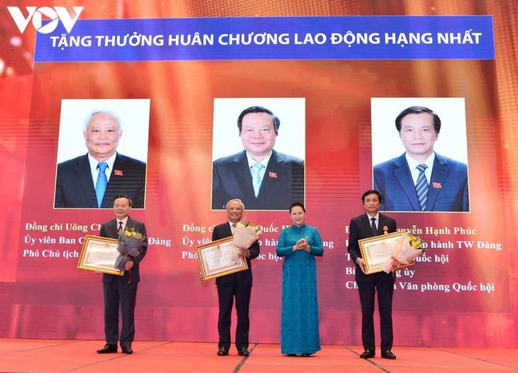 阮氏金银出席八月革命及新潮国民大会75周年纪念大典 - ảnh 1