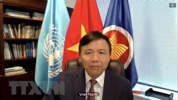 越南承诺基于联合国宪章和国际法打击恐怖主义 - ảnh 1