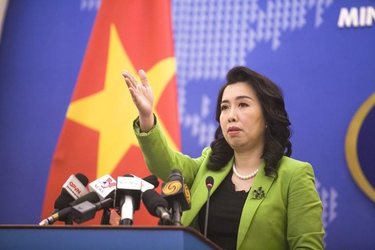 中国在黄沙群岛海域举行军演侵犯越南主权 - ảnh 1