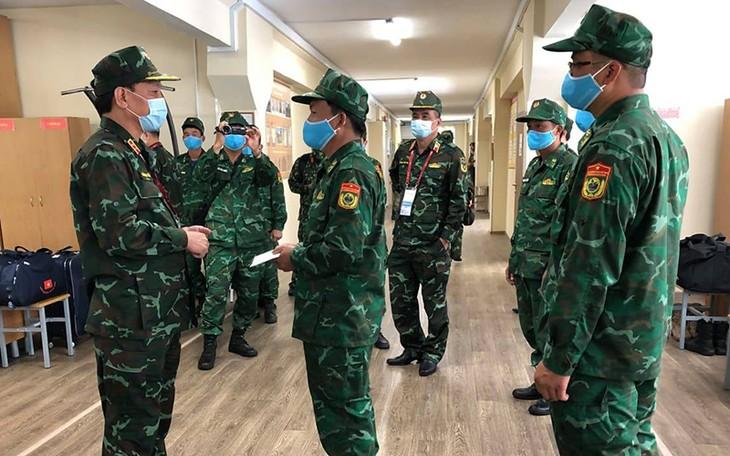 越南人民军代表团继续参加国际军事比赛 - ảnh 1