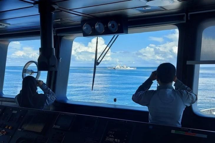 """应对中国""""灰色地带""""战略,印度尼西亚强化航行安全 - ảnh 1"""