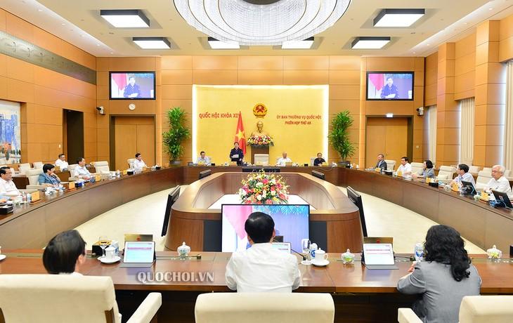 越南国会常委会第48次会议闭幕 - ảnh 1