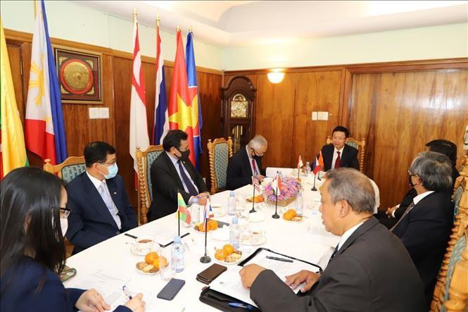 东盟各国驻南非大使肯定越南为东盟峰会的准备工作 - ảnh 1