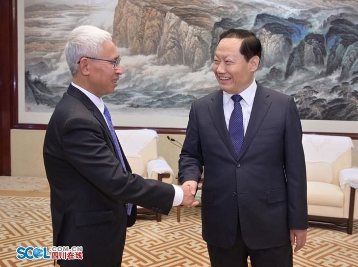 加强越南各地与中国重庆市和四川省的经贸合作 - ảnh 1