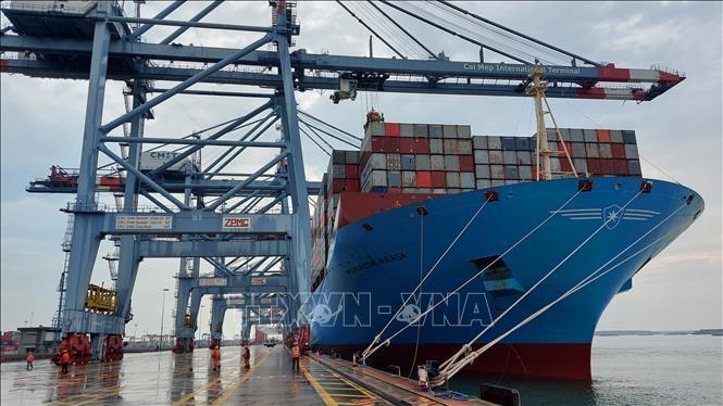 2021年前2个月越南各港口进出国际船舶数量同比下降6% - ảnh 1