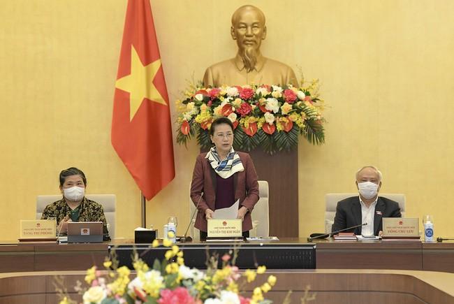 越南国会常委会第54次会议开幕 - ảnh 1