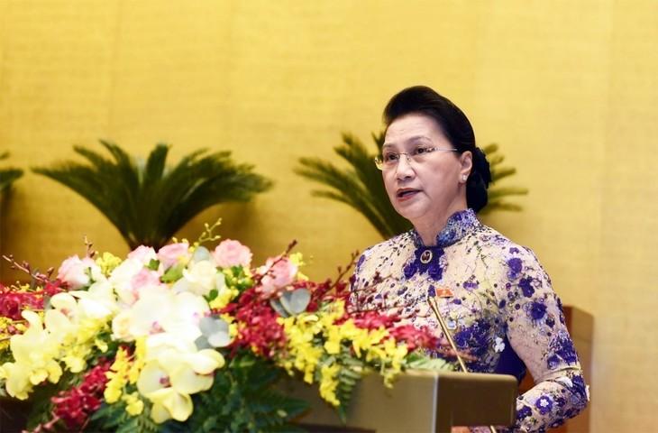 越南第十四届国会最后一次会议开幕 - ảnh 1