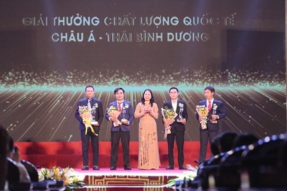 越南国家质量奖颁奖仪式举行 - ảnh 1