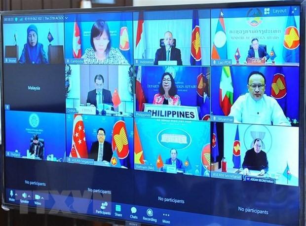 为推动中国-东盟合作在所有领域发展注入助推力 - ảnh 1