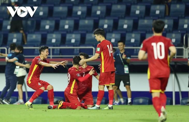 2022年世界杯亚洲区预选赛:越南队以4:0的比分大胜印度尼西亚队 - ảnh 1