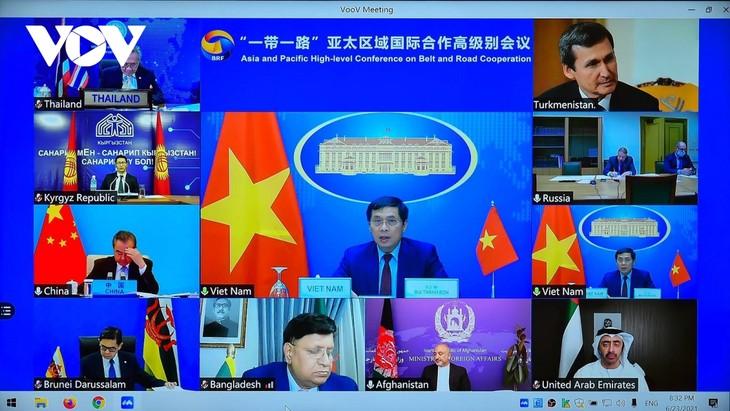 越南加强融入国际经济  为地区和平、繁荣与可持续发展做出贡献 - ảnh 1