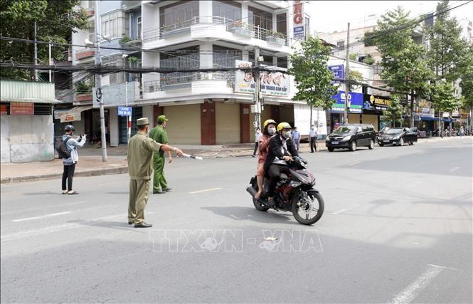 越南南部19个省市按照政府总理第16号指示实施社交距离措施 - ảnh 1