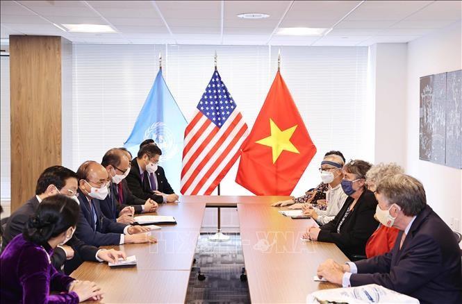 越南珍惜美国友人的支持与帮助 - ảnh 1