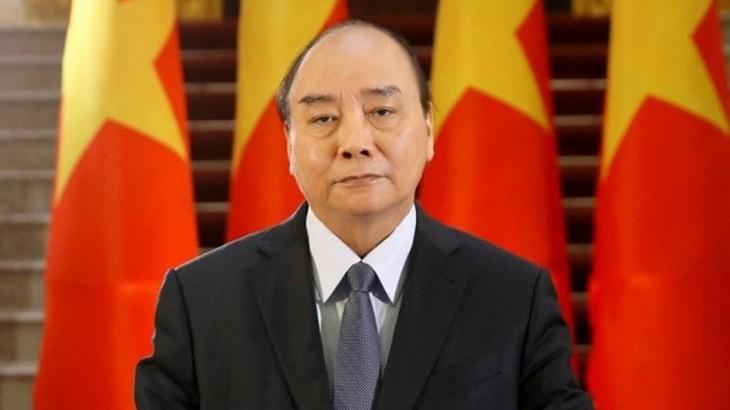 阮春福呼吁向发展中国家提供更多疫苗 - ảnh 1