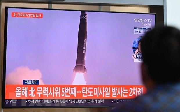 朝鲜成功试射新型高超音速导弹 - ảnh 1