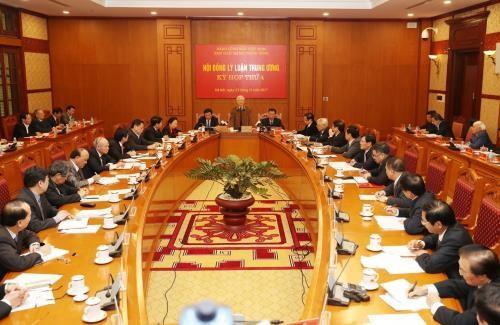 Nguyên Phu Trong à la 4ème session du conseil central de théorie - ảnh 1