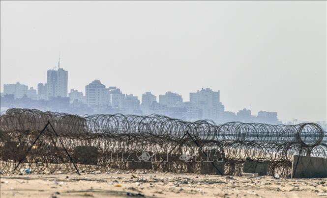 Israël renforce ses frontières avec Gaza - ảnh 1