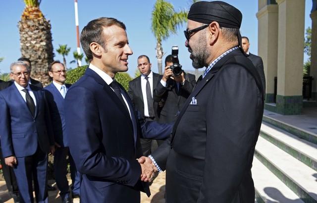Maroc: Emmanuel Macron et le roi Mohammed VI inaugurent la nouvelle ligne à grande vitessetesse - ảnh 1