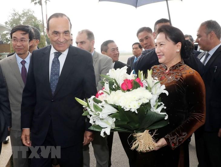Maroc: entretien Nguyên Thi Kim Ngân-Habib El Malki - ảnh 1