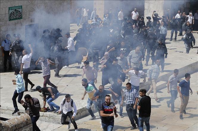 Conflit israélo-palestinien: Angela Merkel réaffirme son soutien à la solution à deux États - ảnh 1