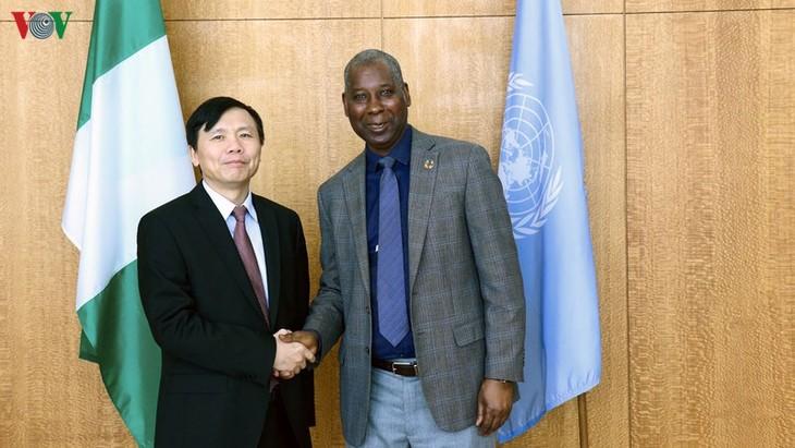 Rencontre entre Dang Dinh Quy et le président de l'Assemblée générale des Nations Unies - ảnh 1