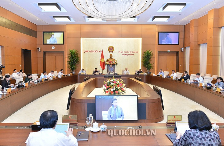 45e réunion du Comité permanent de l'Assemblée nationale: Première journée - ảnh 1